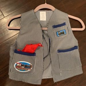 Other - Train engineer costume vest. Small